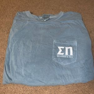 Comfort colors fraternity T-shirt